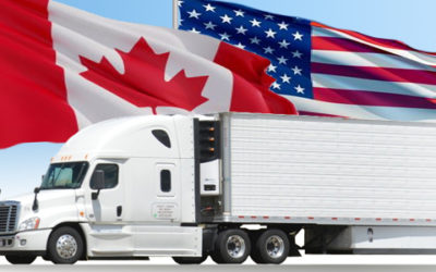 For cross-border truckers, it's business as usual – for now