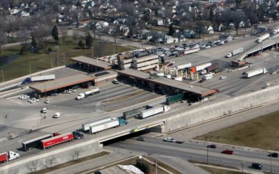 Breaking: US-Canada trucker border crossings plunge