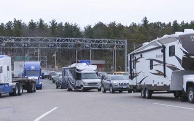 25% fewer truckers arrived last week