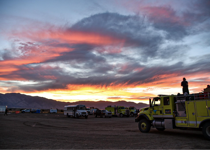 Officials believe semi truck is responsible for 18,000 acre fire in Nevada