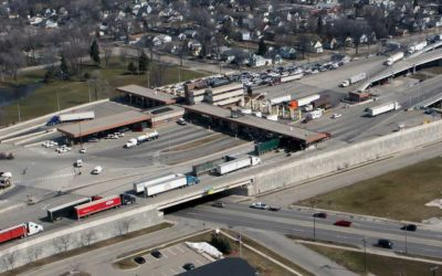 US-to-Canada truck crossings hit pre-COVID level
