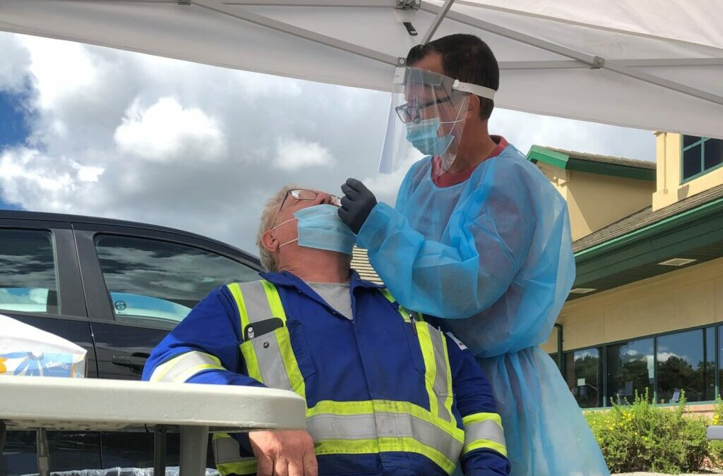 Voluntary Covid-19 testing coming to Coutts crossing