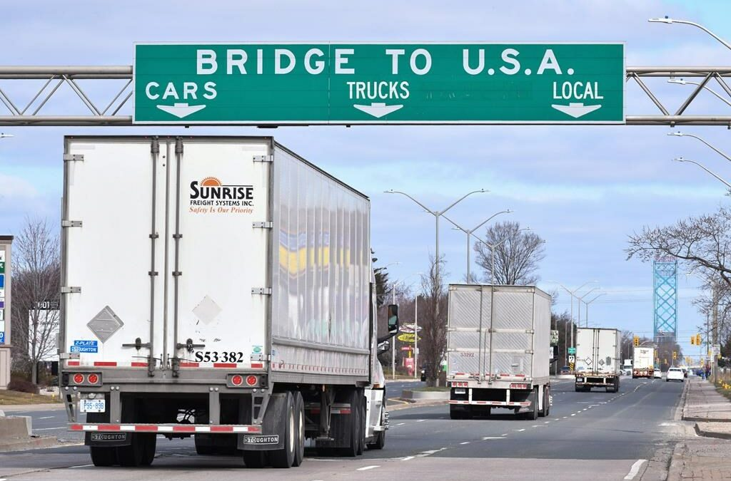 Industry leader says stronger screening in place for truckers who don't need to quarantine during COVID-19