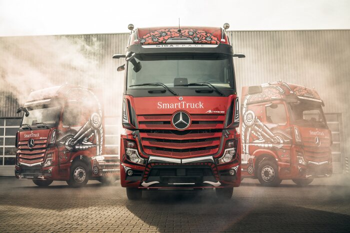 Readers' choice – Mercedes-Benz Actros is Truck of the Year in Poland