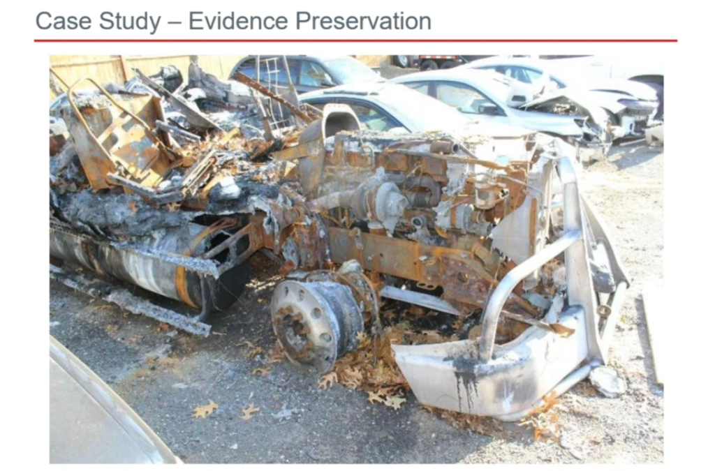 The art of truck fire investigation